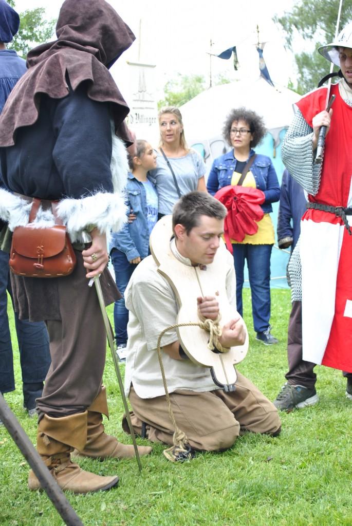 Trunkenbold Gallus wird hingerichtet