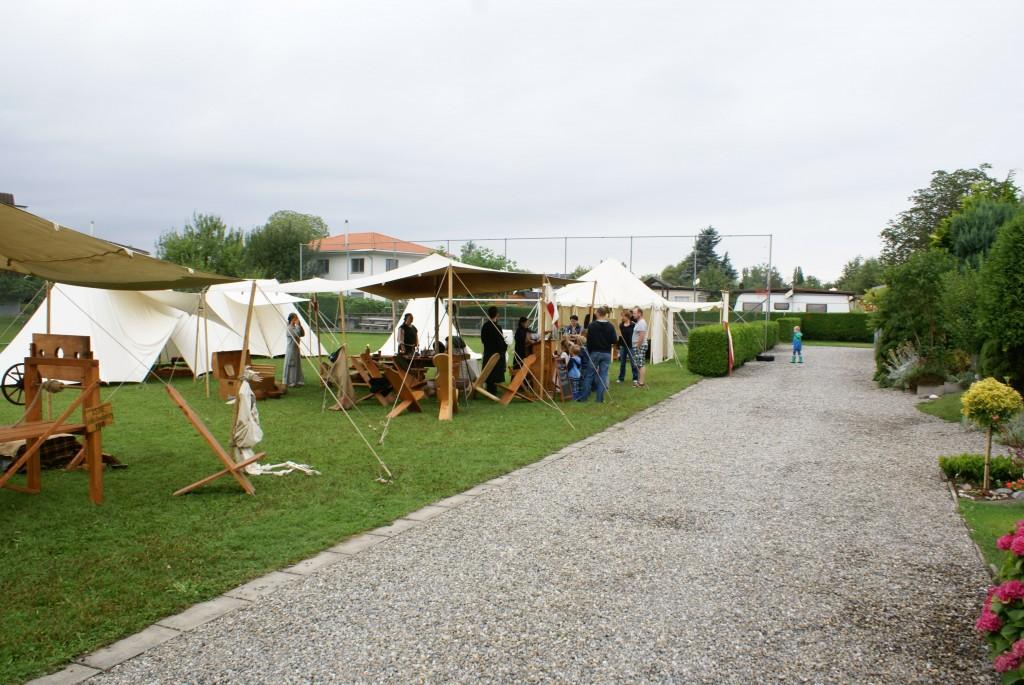 Das Heerlager der Rittolas